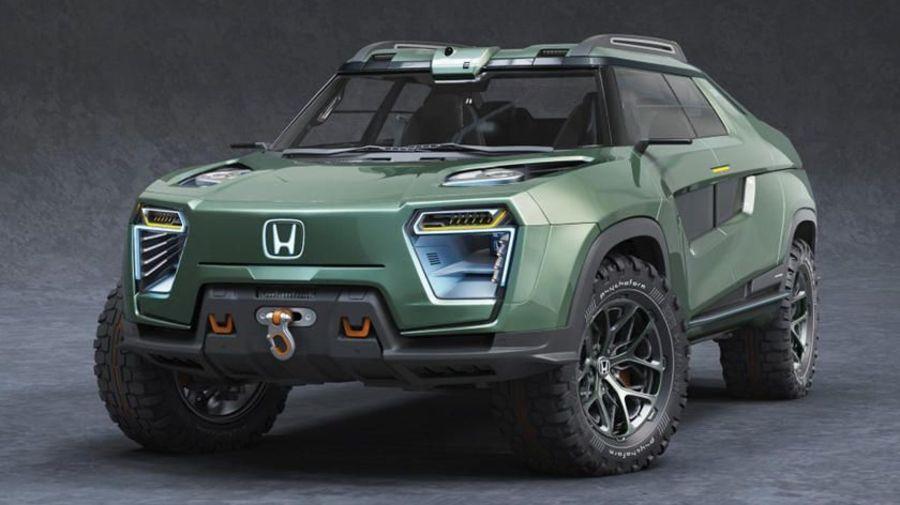 Электрический Honda Ridgeline может посоперничать с Cybertruck в эпатаже