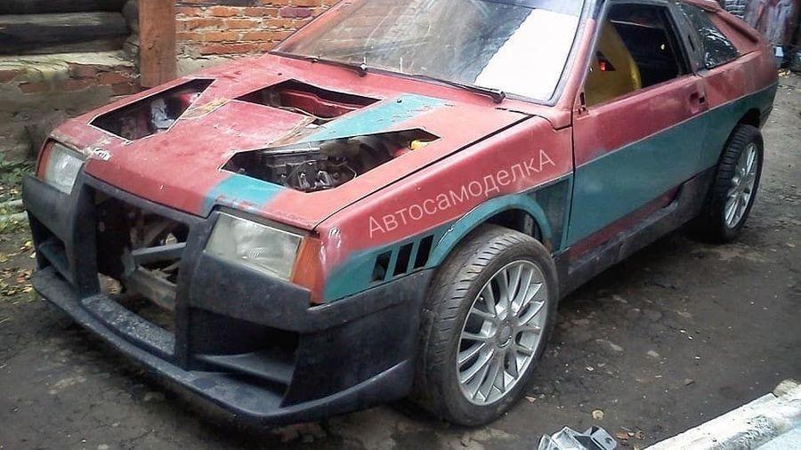ВАЗ-2109 превратился в заднеприводный дрифт-кар с кличкой «Хачироку»