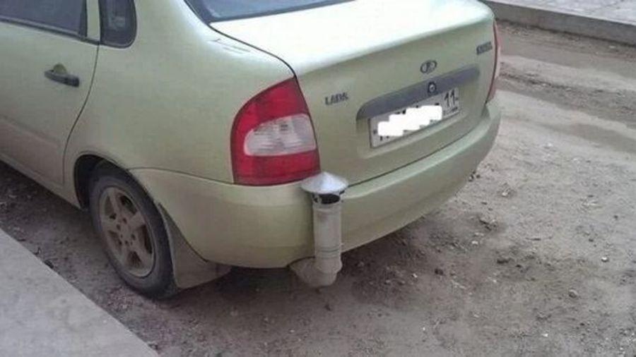 Фотографии из серии «Дорогая, я починил наш автомобиль!» — 4