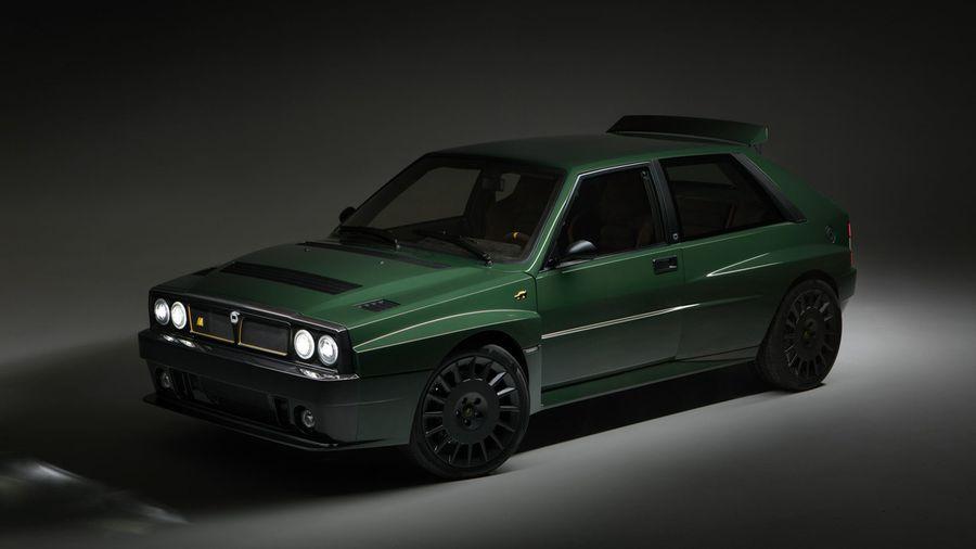 Итальянский миллионер начал выпуск очень дорогого рестомода Lancia Delta Futurista