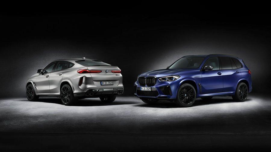 BMW выпустит по 250 копий X5 M Competition и X6 M Competition в версии First Edition