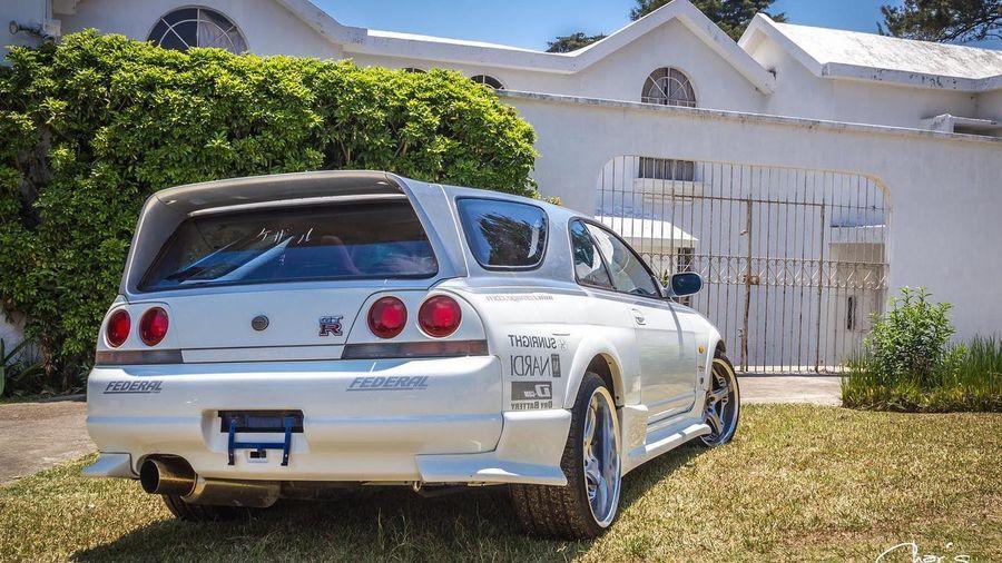 Единственный универсал Nissan Skyline GT-R R33 'Speedwagon' быстрее чем McLaren F1