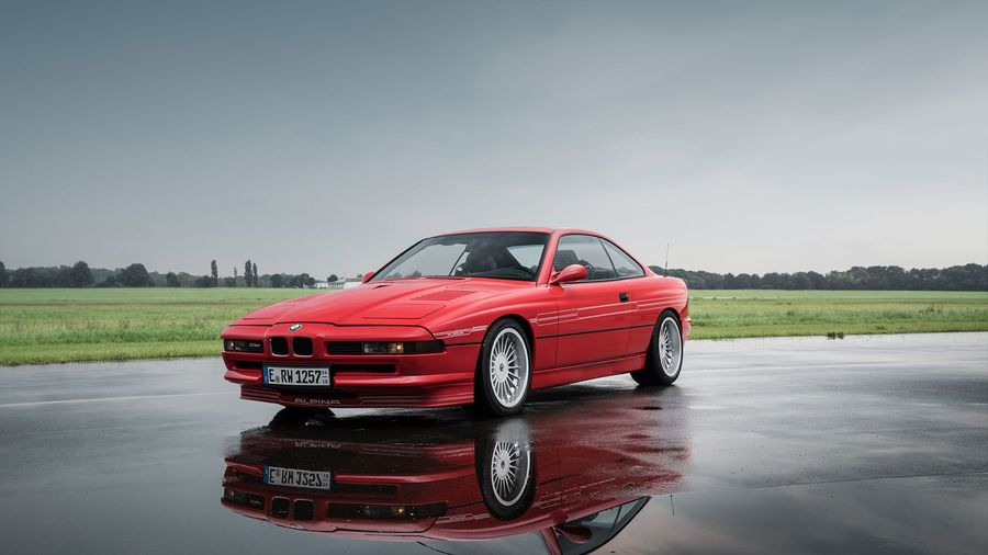 Alpina B12 5.7 Coupe — это соперник Ferrari на базе BMW 850CSi