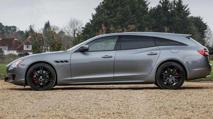 Владелец Maserati Quattroporte расстроился, что нет варианта с кузовом универсал, и сделал его сам