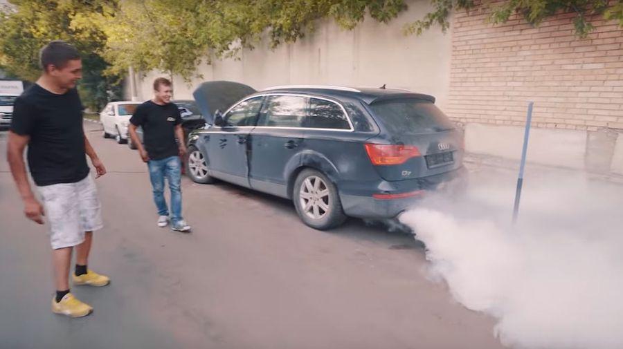 Оживление Audi Q7, забытого в гараже на 3 года. Продолжение эпопеи