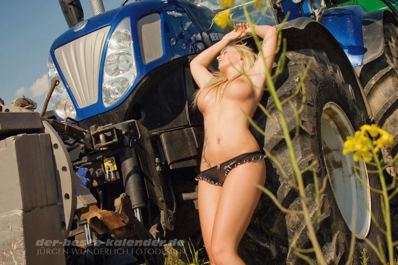 Nude sex in tractor domination porn pics