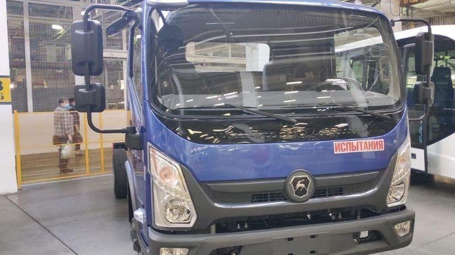 Появились первые фотографии нового ГАЗ Валдай Next... с китайской кабиной