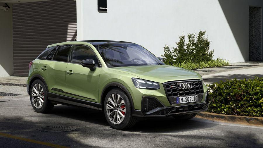 Обновленный Audi SQ2 получил измененную внешность и новые технологии