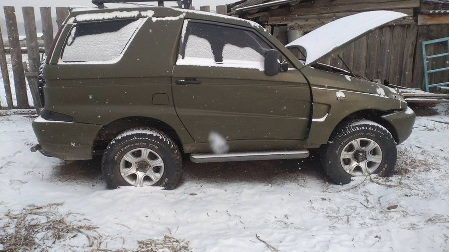 В Бурятии продают редкий внедорожник Astero на базе УАЗа