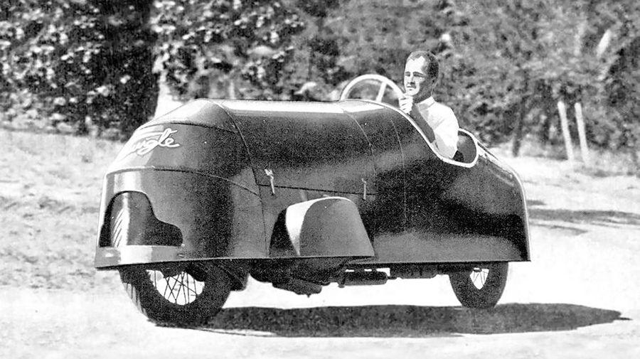 Двухколесники Tigle конца 1930-х годов: автомобиль или мотоцикл?