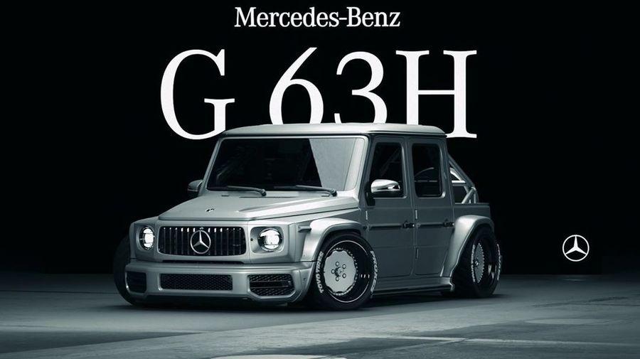 Mercedes-AMG G63 превратился в гоночный пикап. Правда лишь виртуальный