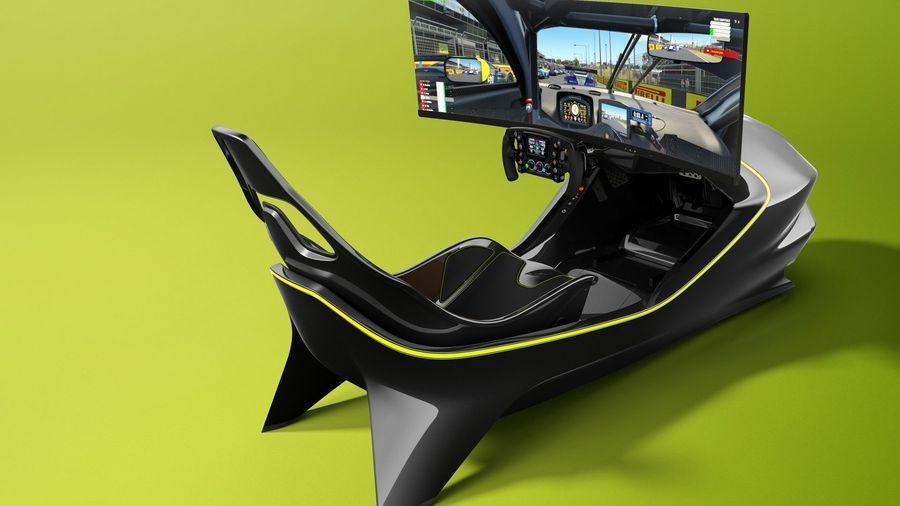 Aston Martin показал автосимулятор AMR-C01 за 5,5 миллиона рублей