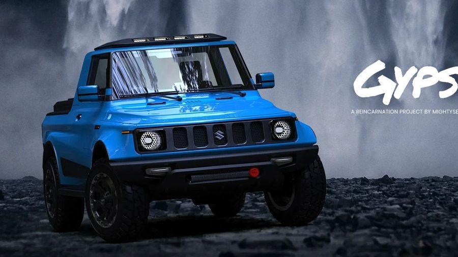 Дизайнеры показали, каким могло бы быть новое поколение индийского внедорожника Suzuki Gypsy