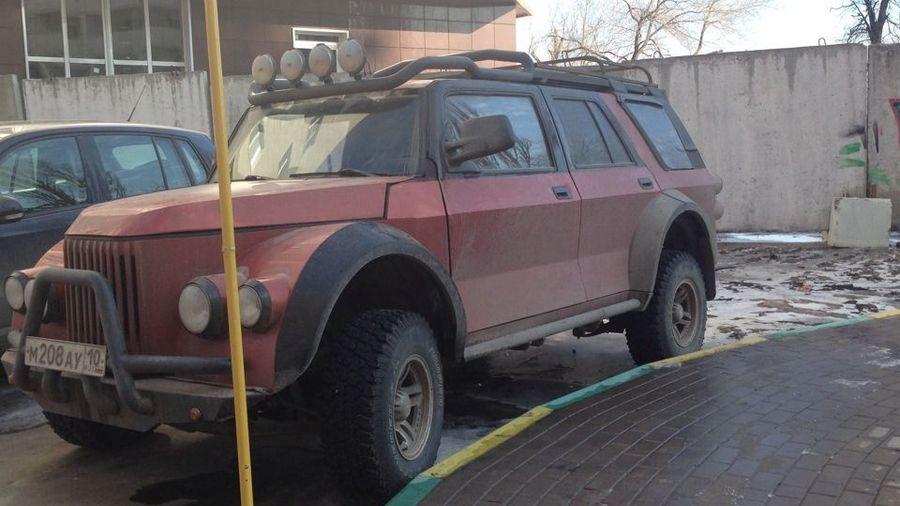 Самодельный внедорожник ГАЗ-69А «Халк», у которого нет ничего общего с ГАЗ-69