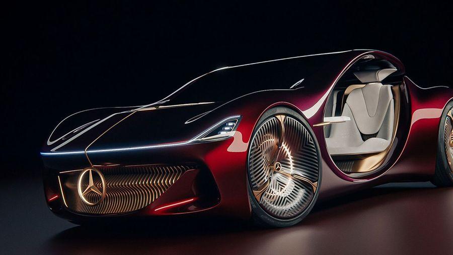 Mercedes-Benz Vision Duet — роскошный автономный электромобиль будущего