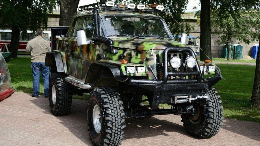 Что ты такое: необычная самоделка на шасси ГАЗ-69 с кузовом от «Жигулей»