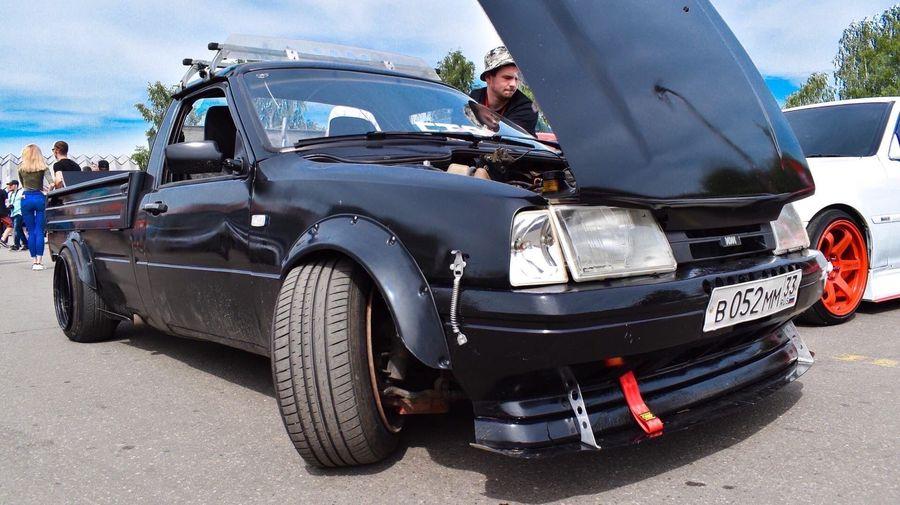 ИЖ-2717 оснастили мотором от Volvo и подвеской от BMW для дрифта