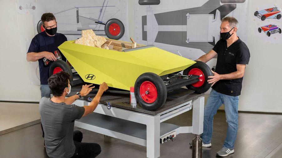 Этот Hyundai вы сможете построить своими руками у себя в гараже