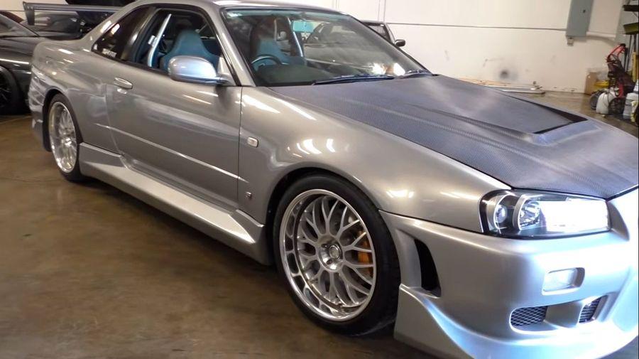 Nissan Skyline GT-R, принадлежавший Полу Уокеру, оценили в 30 миллионов рублей