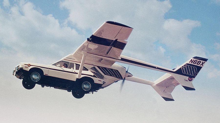 8 летающих автомобилей, которые действительно поднимались в небо