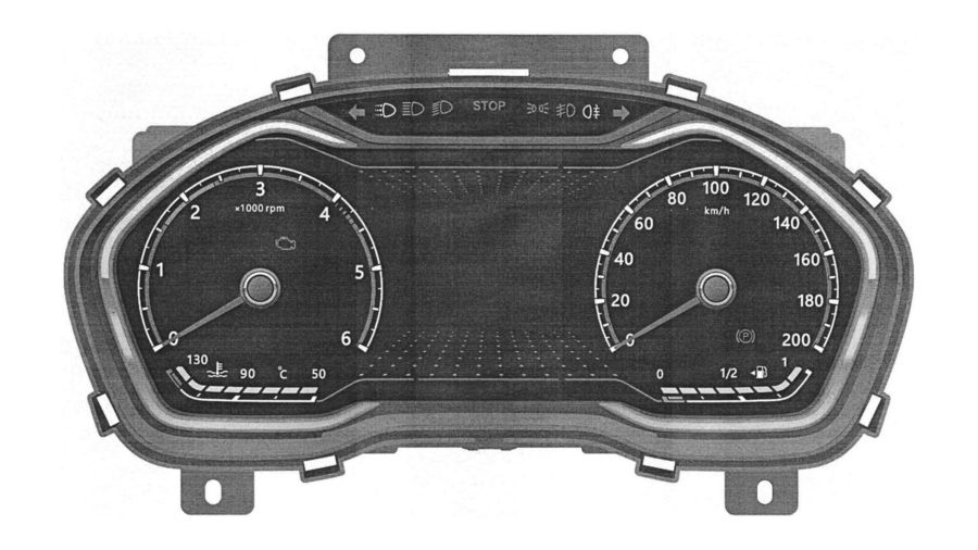 ГАЗ запатентовал комбинацию приборов для новой ГАЗели