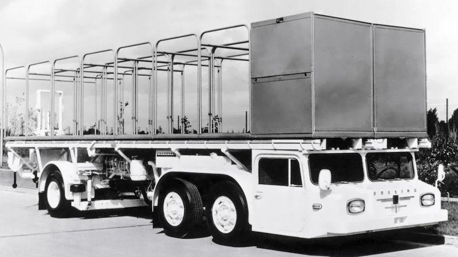 Bussing Supercargo Dachlaster — Первый сверхнизкий контейнеровоз