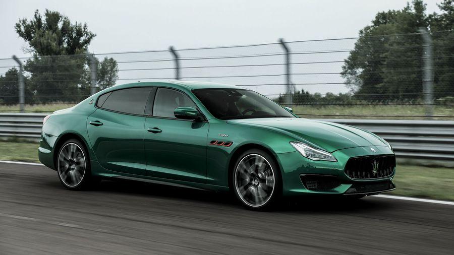 Maserati Ghibli и Quattroporte в версии Trofeo получили мотор от Ferrari