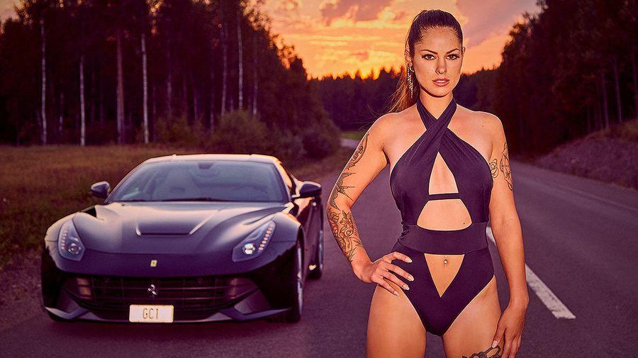 Календарь «Мисс тюнинг-2019» с великолепной Лаурой Фитцек