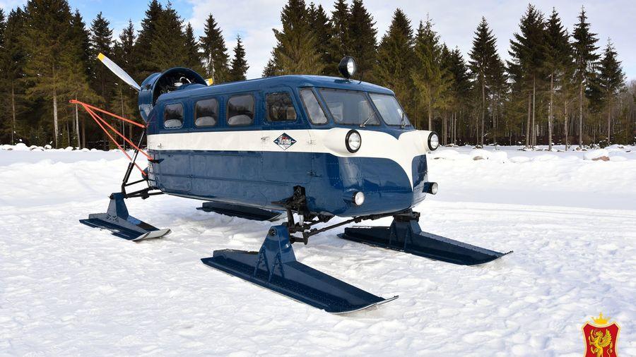 Советские грузопассажирские аэросани «Ка-30» — труженник Крайнего Севера