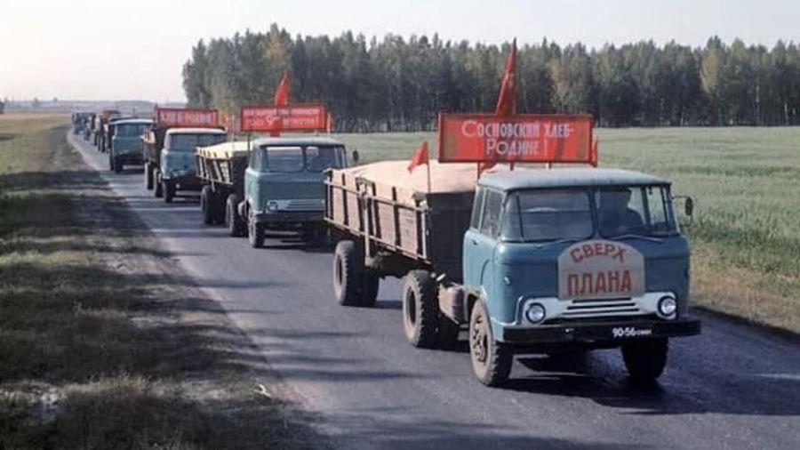 Теплые «ламповые» фотографии времен СССР с советскими автомобилями — 14
