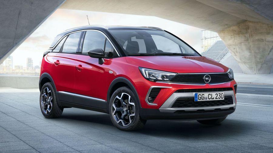 Обновленный Opel Crossland должен добраться до России