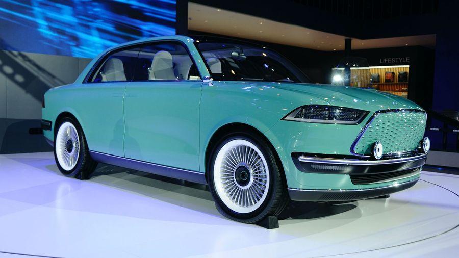 Новый ретро-концепт от Great Wall выглядит как смесь Ford Mustang и BMW 2002