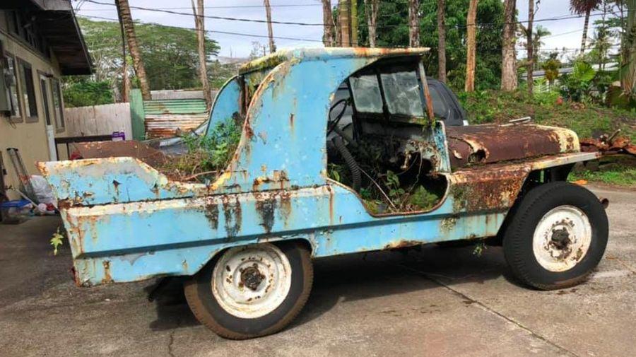 Джипы времен Второй мировой до сих пор живут на Гавайях с кузовами в стиле американских авто 50-х