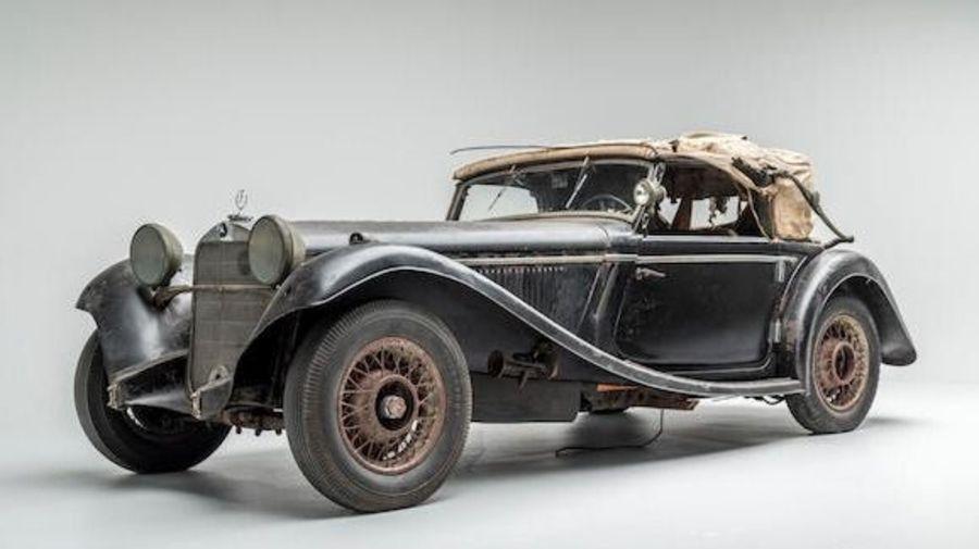 Купили бы этот нереставрированный Mercedes-Benz 290 Cabriolet A за 34 миллиона рублей?