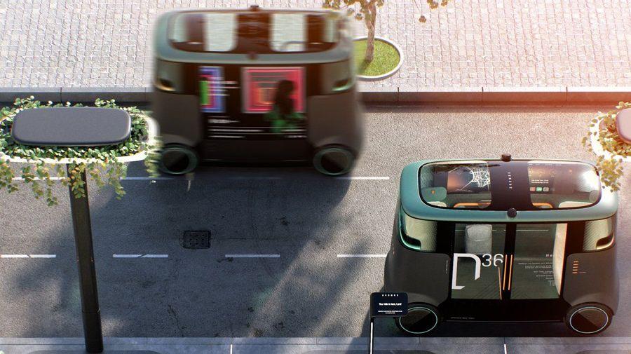 В Лондоне придумали автономный городской транспорт для перевозки пассажиров и грузов