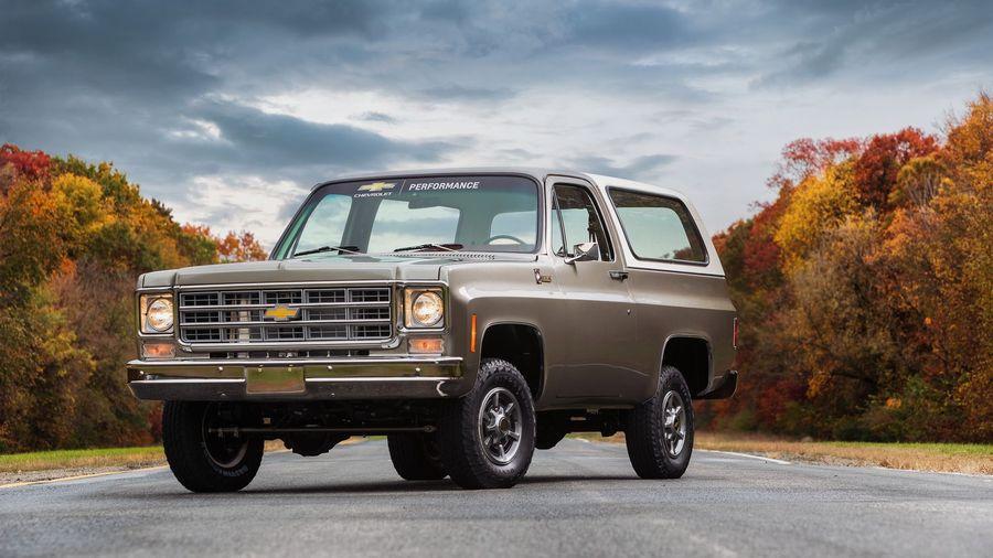 Chevrolet перевел внедорожник K5 Blazer 1977 года на электротягу