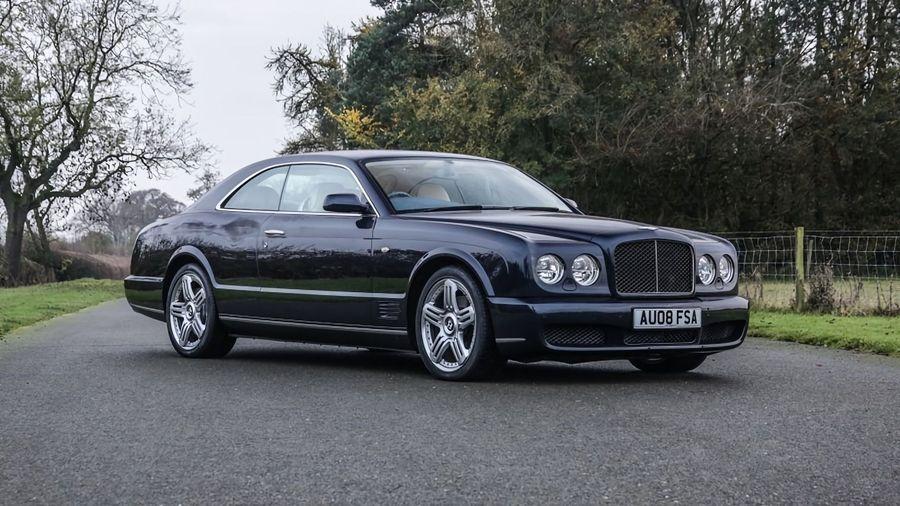 Редкое купе Bentley Brooklands выставили на аукционе за 12 миллионов рублей