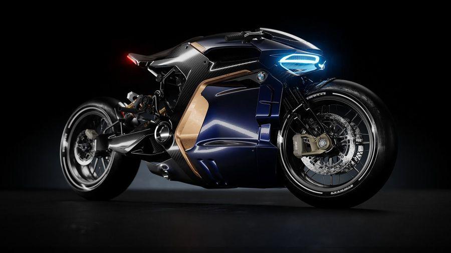 Мотоциклы BMW стали бы такими, если бы дизайнеров никто не ограничивал