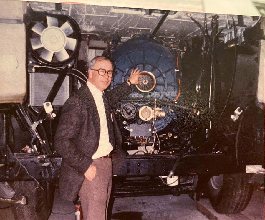 Газотурбинный двигатель на Форд